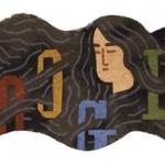 与謝野晶子さま ご生誕136周年記念 2014年12月7日:Googleロゴ