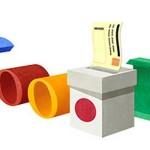 Googleロゴ:衆議院議員総選挙の日 2014年12月14日