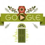 クリスマスに隕石降って厄落とし Google Doodle Collection
