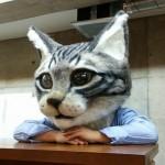リアル猫ヘッドが欲しい! 通販予定は未定(泣)リアルねこかぶり