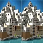 3D ステレオグラム・マジカルアイ 立体視画像集で視力回復