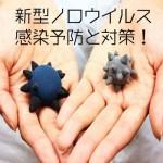 新型ノロウイルス2015 感染予防と対策!